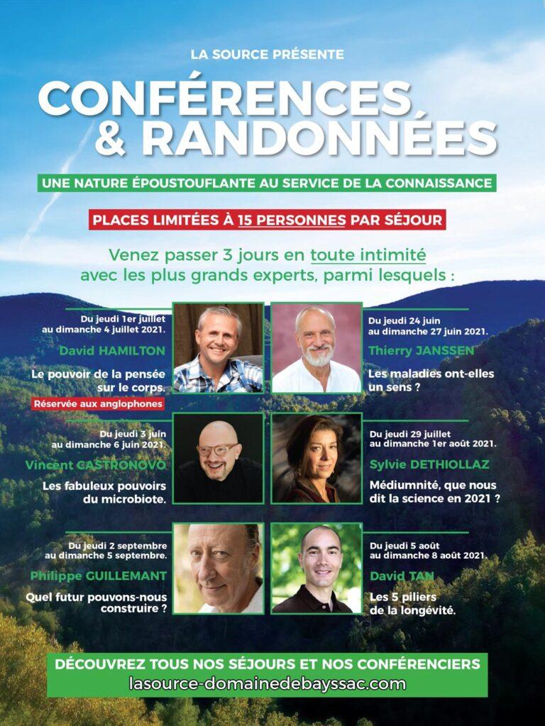 Conférences et randonnées La source Domaine de Bayssac