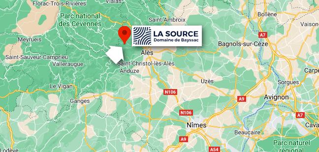 La Source - Accès